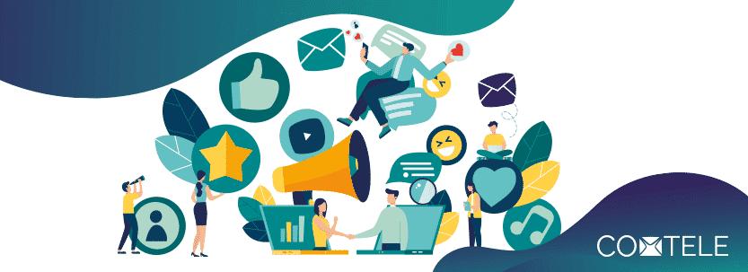 You are currently viewing Canais de comunicação: o que são e como usá-los de maneira efetiva